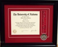 Diploma Framing 4