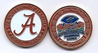 2009 BCS Coin