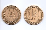 14 National Championships Coin