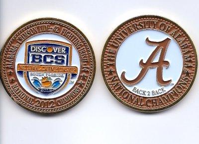 2013 BCS Coin