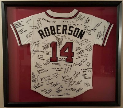 Baseball Jersey Framing