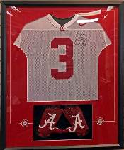 Football Jersey Framing