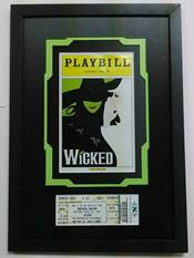Playbill and Ticket