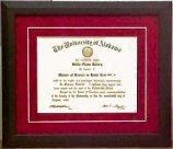 Diploma Framing 2