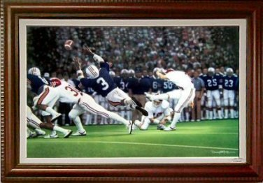 """The Kick I"" Canvas Edition"